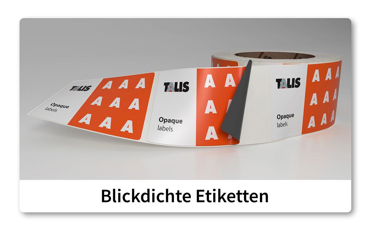 talis etikette opaque