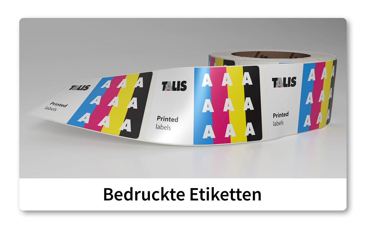 talis etikette printed