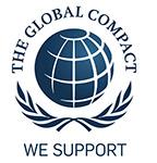 un logo global impact